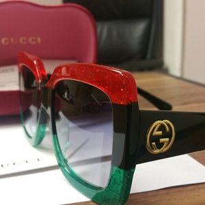 Authentic Gucci Oversized GG0083S Sunglasses